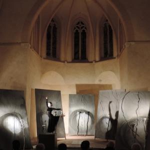 Résidence artistique – Chapelle «Funeraria» à Perpignan du 15 janvier au 28 février 2014