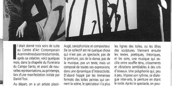 Dérives de Raison – Article «Le travailleur Catalan»